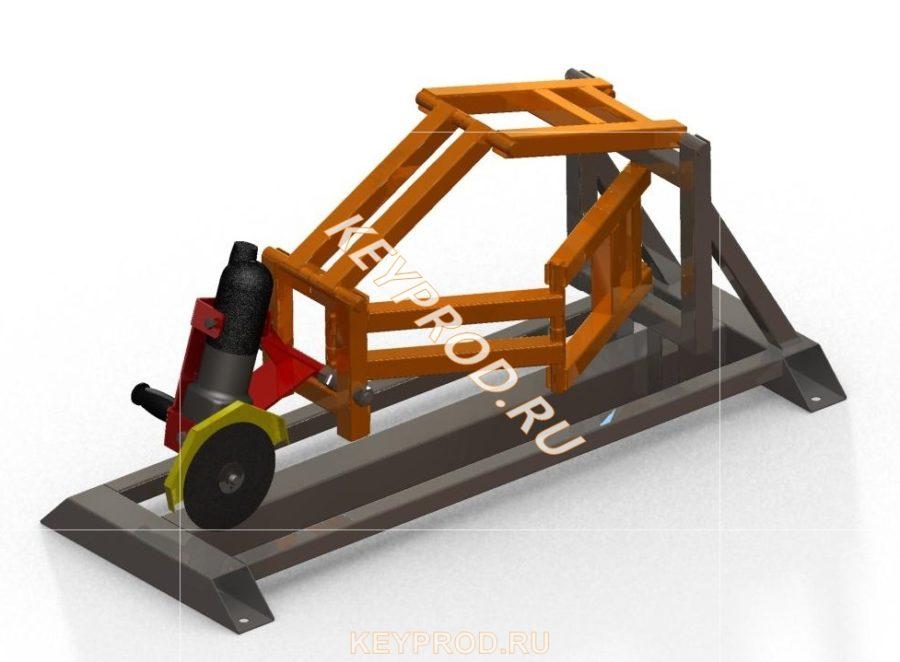 3D-модель Стойки-слайдера для болгарки