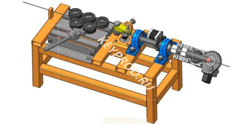 3D гибочный станок проволоки на Arduino