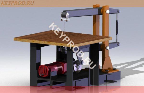 3D-модели Лобзиковый станок ЛС01