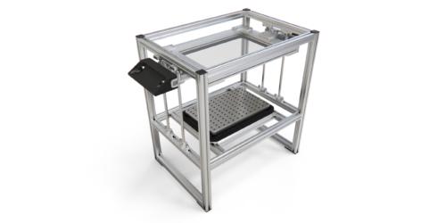 Вакуум-формовочная машина ВФМ-02 Чертежи и 3D-модель