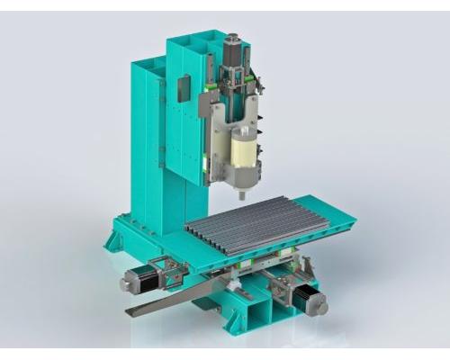 Фронтальный фрезер ЧПУ 450Х250 3d-модель