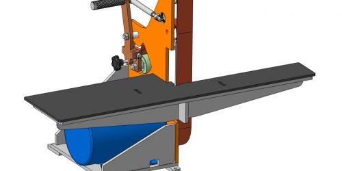 Гриндер 1200х50 (1000х50): 3D-модель