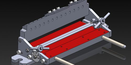 Листогиб 280 мм. 3D-модель