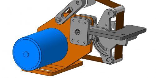 Гриндер 915х50  3D-модель