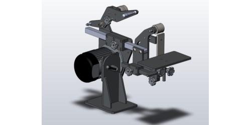 Гриндер GMS 3D-модель
