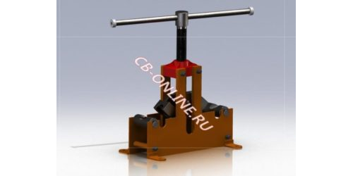 3D-модель Трубогиб арбалетный винтовой ТА 01