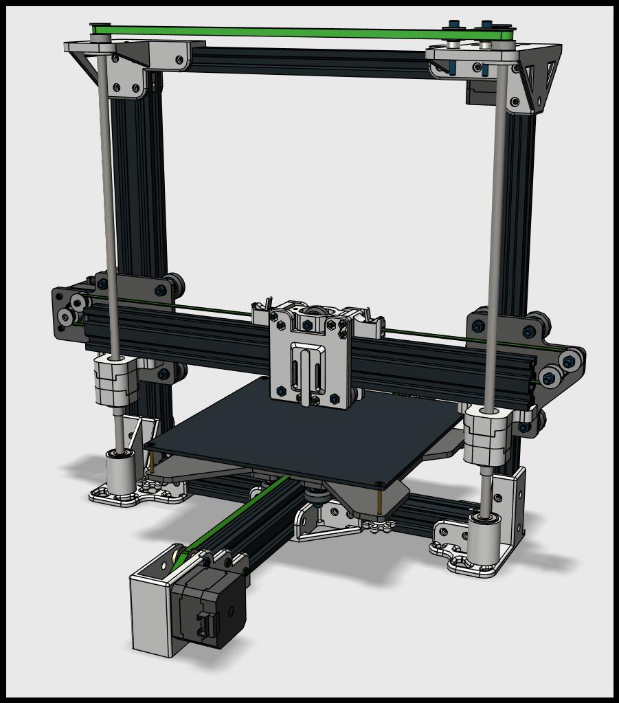 3D-принтер TEVO 3D-модель