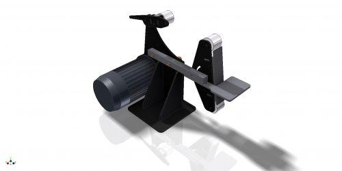 Гриндер  1525х50 3D-модель  Belt Grinder