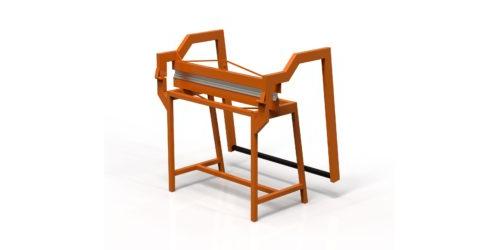 Листогиб прессовый ручной 3D-модель