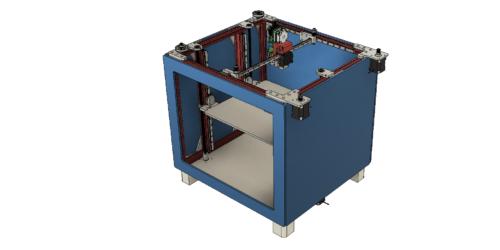 3d-printer core xy 300x300x300 3D-модель