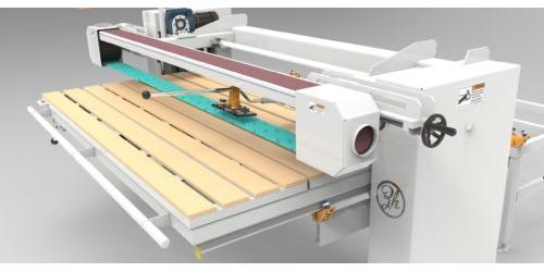 Ленточный шлифовальный станок 3D-модель